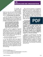 Séance 1 - Cours de Psychosociologie des Organisations 2020 (PL2)