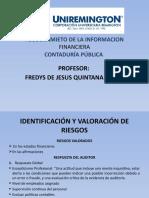 PRESENTACION ASEGURAMIENTO DE LA INFORMACION FINANCIERA CONTADURÍA PÚBLICA FACULTAD DE CIENCIAS PARTE III