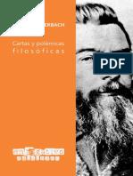 Feuerbach, Ludwig (2021) - Cartas y polémicas filosóficas