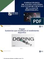 Dopaje Sustancias que modifican el rendimiento deportivo FARMA (1)