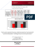 Newtown, CT Home Sales Report January 2011 by The Higgins Group