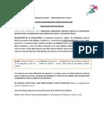 RUBRICA DE EVALUACION HABILIDADES MOTRICES (NIVELACION) 3° BÁSICO