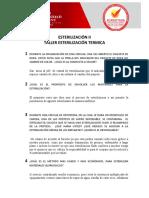 TALLER ESTERILIZACION TERMICA (1)