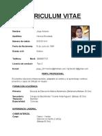 Jorge - curriculum