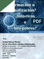apoyo clase 1_Información o informatización