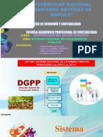 Sistema Nacional de Presupuesto Público (1)