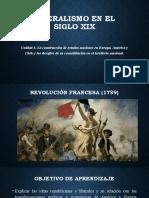 Liberalismo en El Siglo XIX