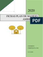 FICHAS PLAN DE MANEJO AMBIENTAL CHIMICHAGUA