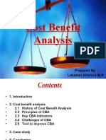 Cost Benefit Analysis v1