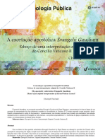 A exortação apostólica Evangelii Gaudium