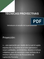 TÉCNICAS PROYECTIVAS gráficos