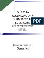 La globalización y la Incidencia de los Derechos usmp 2021 I (1)