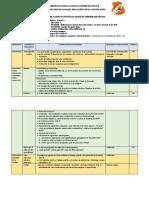 Planificación de Una Sesión de Aprendizaje Virtual - Lee Diversos Tipo de Textos