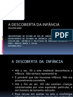 A DESCOBERTA DA INFÂNCIA out 2013