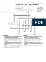Crucigrama_Planeación Estratégica de Capital Humano