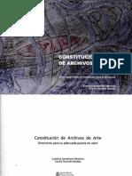Constitución de Archivos Arte Chile