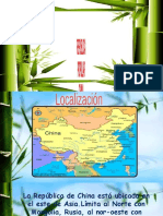 REPUBLICA POPULAR CHINA (CHINA MODERNA)
