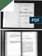 léon duguit - leçons de droit public gènèral - pág