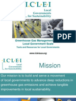 ICLEI Local Government Scale GHG