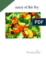 Stirfry Recipe eCookbook