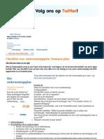 Checklist voor ondernemingsplan (business plan) | Alle relevante zaken op een rijtje | MKB Servicedesk