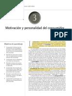 La Motivación y la personalidad comportamiento consumidor