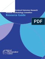 PCORI Methodology Committee Guide