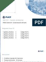 Pogil 04 - Contaminación del Suelo - Gestión de Residuos Sólidos