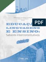 2021 Educação, Linguagens e Ensino Vol 1 Capítulo