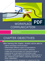 Slide Chapter 5 Workplace Communication