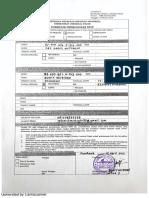 formulir pengajuan EFIN