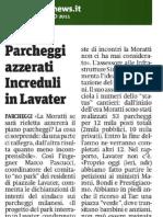Parcheggi azzerati. Increduli in Lavater - 20110309_Metro