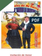 Carnavales Juventud Barrio La Libertad - Jauja
