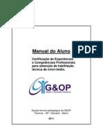 Manual do Aluno Certificação 2011 modelo
