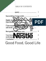 Nestle success key factor