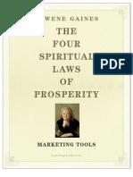4 Spiritual Laws of Prosperity