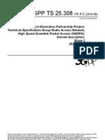 25308-940 HSDPA Overall Description