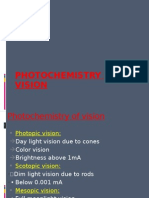 Photo Chemistry of Vision