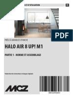 MCZ HALO Air UP 8 1 Mode d Emploi Et d Installation 1