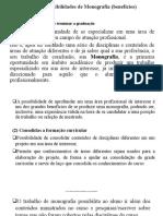 Aula 2 Possibilidades oferecidas pela Monografia e ECC