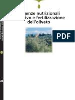 Esigenze Nutrizionali Dell'Olivo e Fertilizzazione Dell'Oliveto