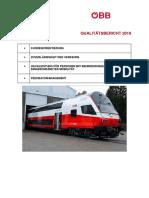 ÖBB Qualitätsbericht 2019