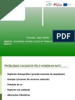 0349 - Ambiente, Segurança, Higiene e Saúde no Trabalho - conceitos básicos -  Apresentação