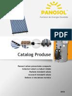 Catalog Panosol - 2018