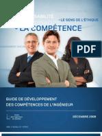 guide competences ingénieur quebec
