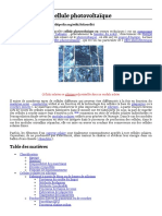 Cellule photovoltaïque