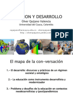 OLVER QUIJANO. Educaciòn y desarrollo (problemàticas educativas)