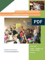 UFCD_9637_Planificação de Atividades Educativas Com Crianças e Jovens_índice