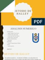 Metodo de Halley