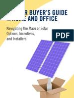 Solar Buyer's Guide excerpt
